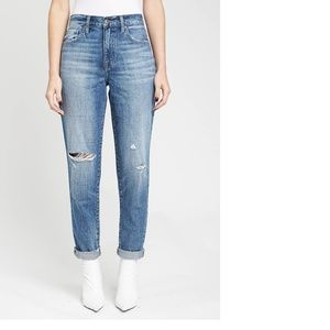 Pistola Presley High Rise Vintage Distressed Jeans